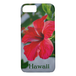 Hawaii Red Hibiscus iPhone 8/7 Case