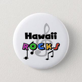 Hawaii Rocks 2 Inch Round Button