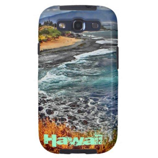 Hawaii scenic coastline galaxy phone case galaxy s3 cover