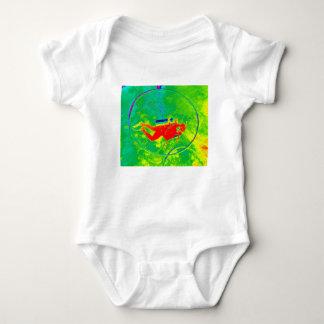 Hawaii Scuba Diver Baby Bodysuit