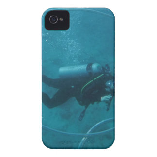 Hawaii scuba diver Case-Mate iPhone 4 case