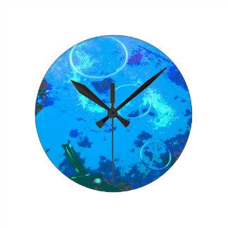 Hawaii scuba diver clock