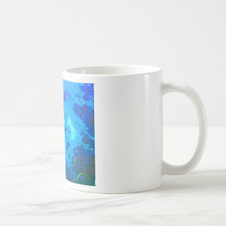 Hawaii scuba diver coffee mug