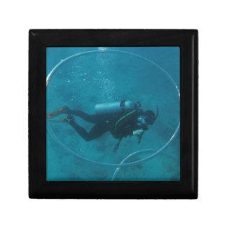 Hawaii scuba diver gift box