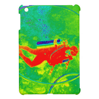 Hawaii Scuba Diver iPad Mini Covers