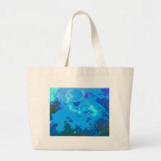 Hawaii scuba diver large tote bag