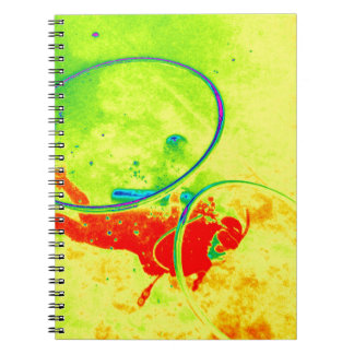 Hawaii scuba diver spiral notebook