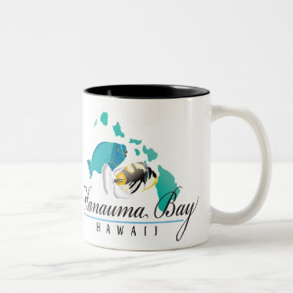 Hawaii State Fish - Humuhumunukunukuapua'a Two-Tone Coffee Mug