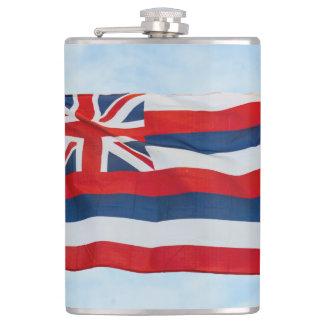 Hawaii State Flag Hip Flask