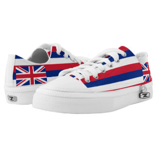 Hawaii State Flag Low-Top Sneakers