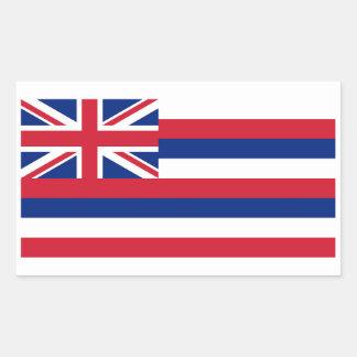 Hawaii State Flag Sticker - 4 per sheet