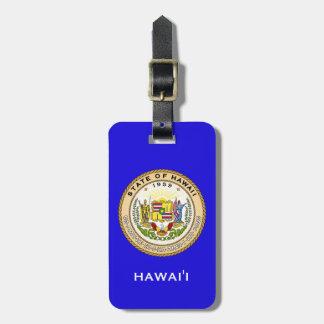 Hawai'i State Seal Luggage Tag