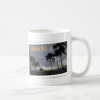 Hawaii Statehood 50th anniversary Coffee Mug