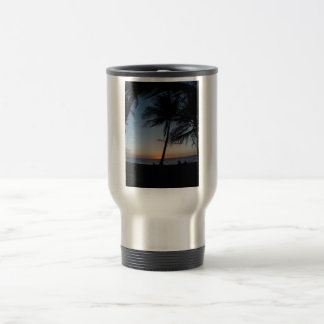 Hawaii Sunset 15 Oz Stainless Steel Travel Mug