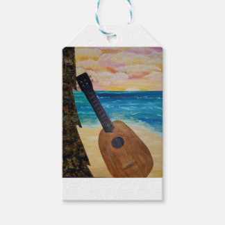 hawaii sunset gift tags