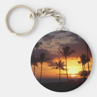 Hawaii Sunset Keychain