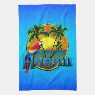 Hawaii Sunset Kitchen Towel