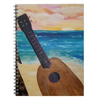 hawaii sunset notebook