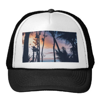 Hawaii Sunset Paradise Trucker Hat
