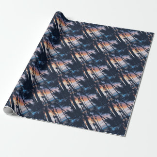 Hawaii Sunset Paradise Wrapping Paper