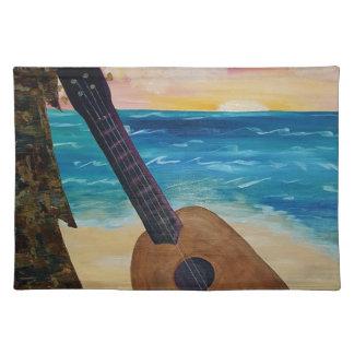 hawaii sunset placemat