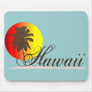 Hawaii Sunset Souvenir Mouse Pad