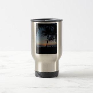 Hawaii Sunset Stainless Steel Travel Mug