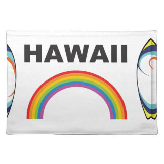 hawaii surf boards placemat
