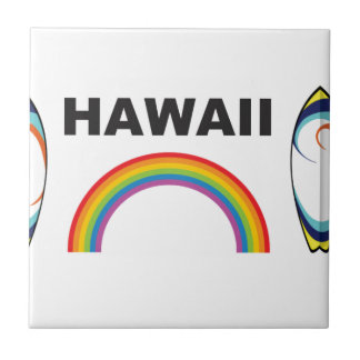 hawaii surf boards tile