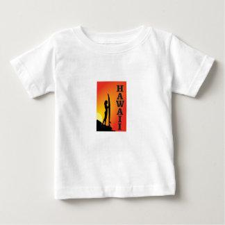 Hawaii surf girl baby T-Shirt