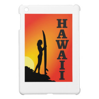 Hawaii surf girl case for the iPad mini