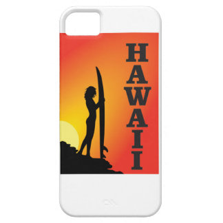 Hawaii surf girl case for the iPhone 5