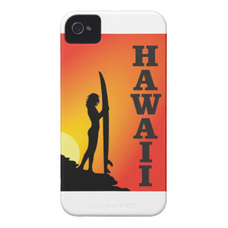 Hawaii surf girl iPhone 4 case