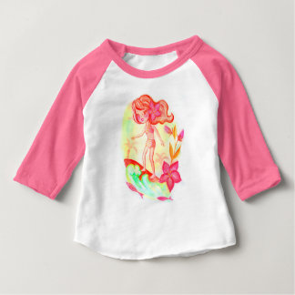 Hawaii surf little girl baby T-Shirt