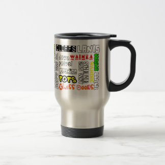 Hawaii Surf Spots Travel Mug