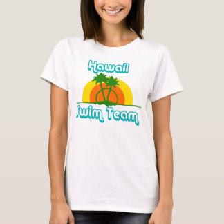 Hawaii Swim Team Retro Vintage T-Shirt