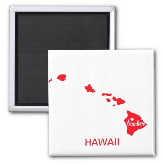 Hawaii Teacher Magnet