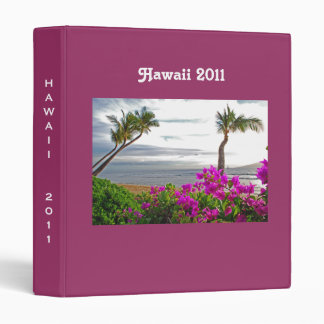 Hawaii Travel Binder