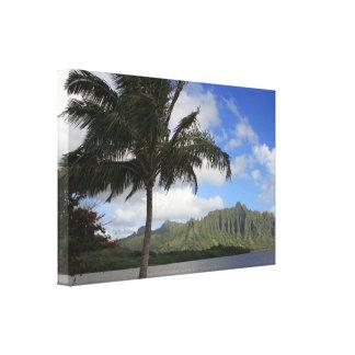 Hawaii Tropical Paradise Canvas Print