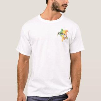 Hawaii Turtle and Hawaii Islands T-Shirt