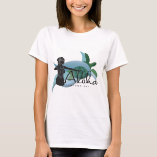 Hawaii Turtle and Hula dancer 198 T-Shirt