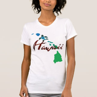 Hawaii Turtle and Islands 436 T-Shirt