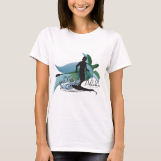 Hawaii Turtle and surfing 193 T-Shirt