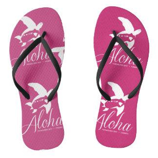 Hawaii Turtle Flip Flops