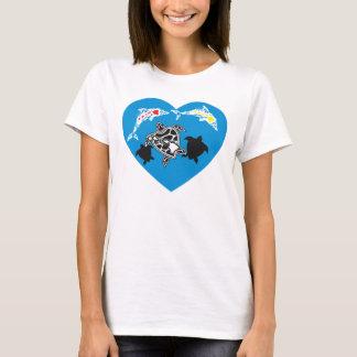 Hawaii Turtle Honu Aloha T-Shirt