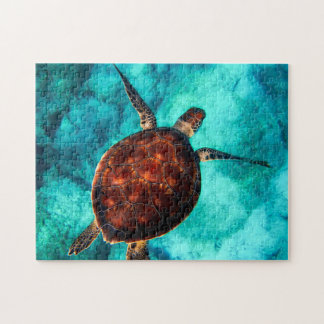 Hawaii Turtle Honu Jigsaw Puzzle