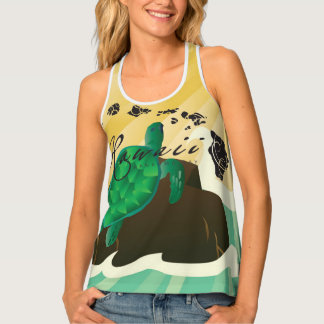 Hawaii Turtle Tank Top