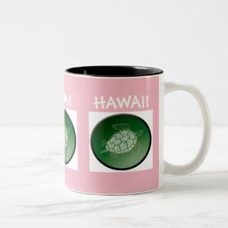 Hawaii Turtle Two-Tone Coffee Mug