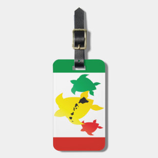 Hawaii Turtles Luggage Tag