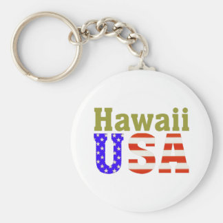 Hawaii USA! Keychain